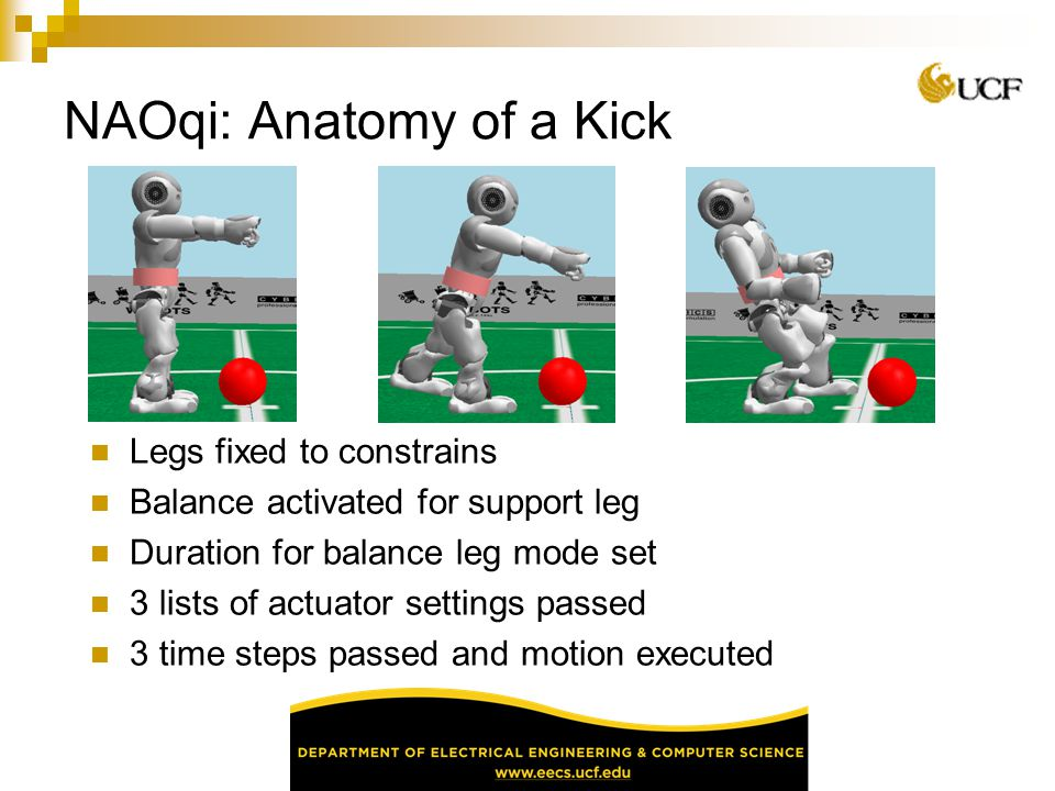 NAOqi: Anatomy of a Kick