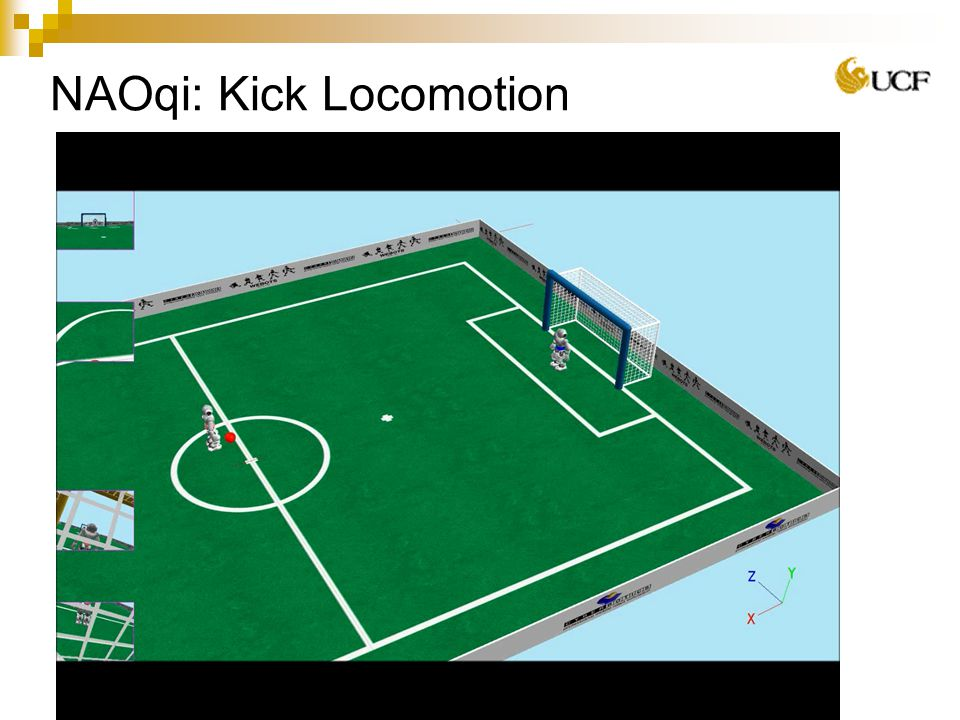 NAOqi: Kick Locomotion