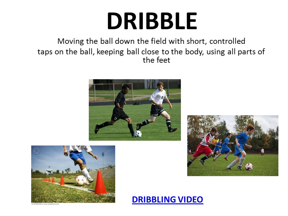 DRIBBLE DRIBBLING VIDEO