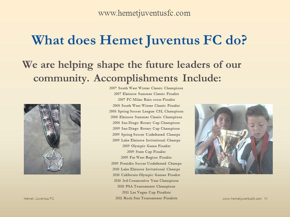 What does Hemet Juventus FC do