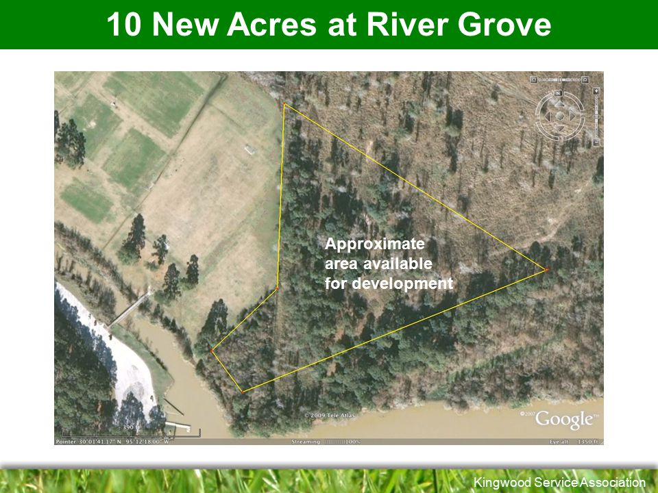 10 New Acres at River Grove