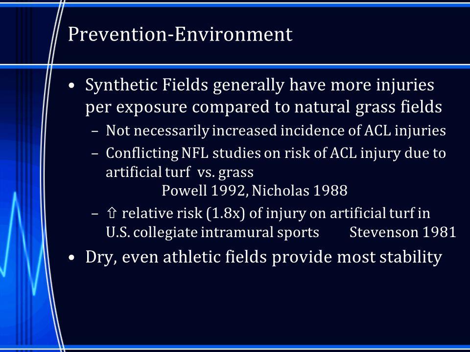 Prevention-Environment