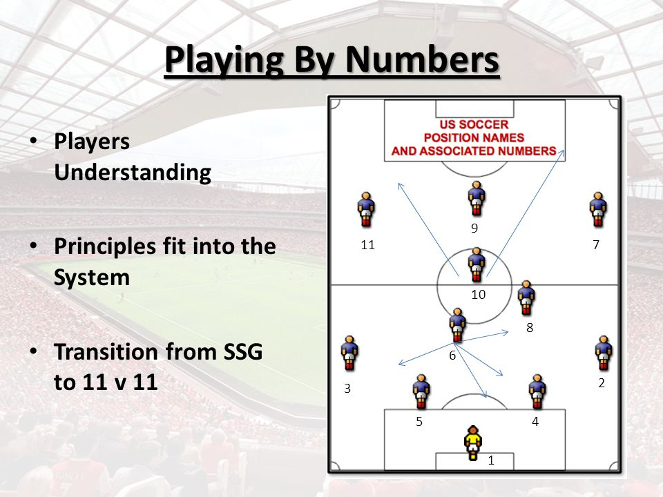 Playing By Numbers Players Understanding