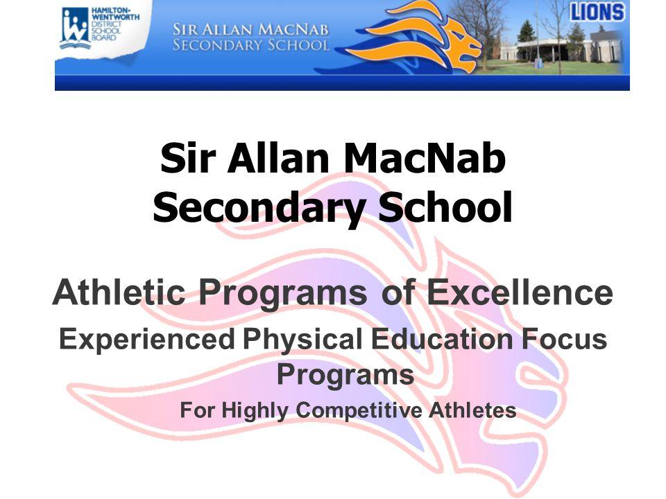 Sir Allan MacNab Secondary School