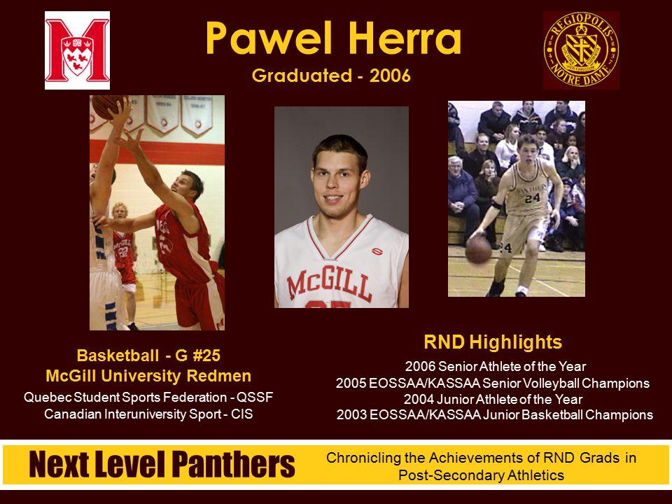 Pawel Herra Graduated - 2006