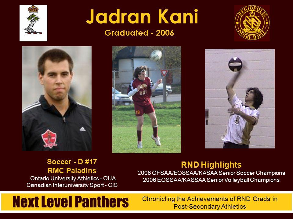 Jadran Kani Graduated - 2006