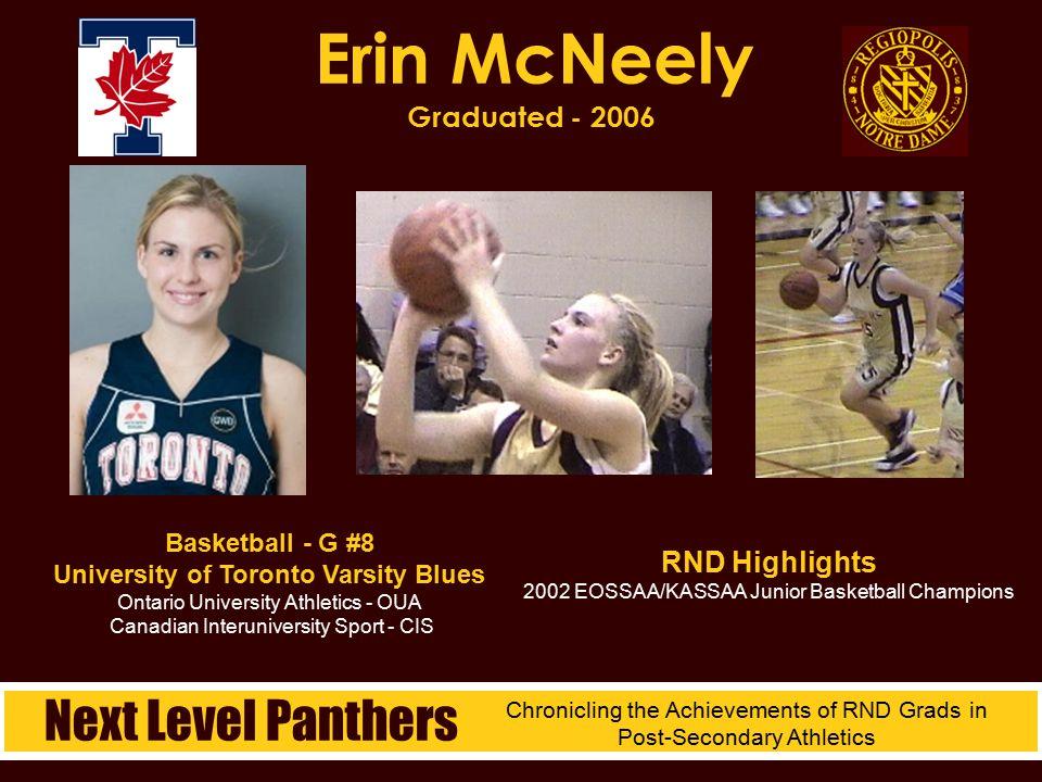 Erin McNeely Graduated - 2006