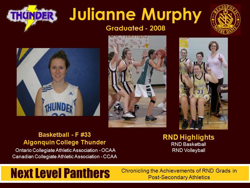 Julianne Murphy Graduated - 2008