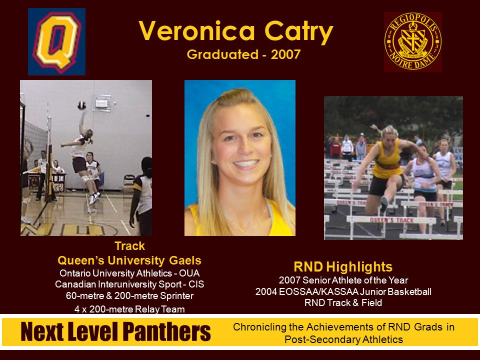 Veronica Catry Graduated - 2007