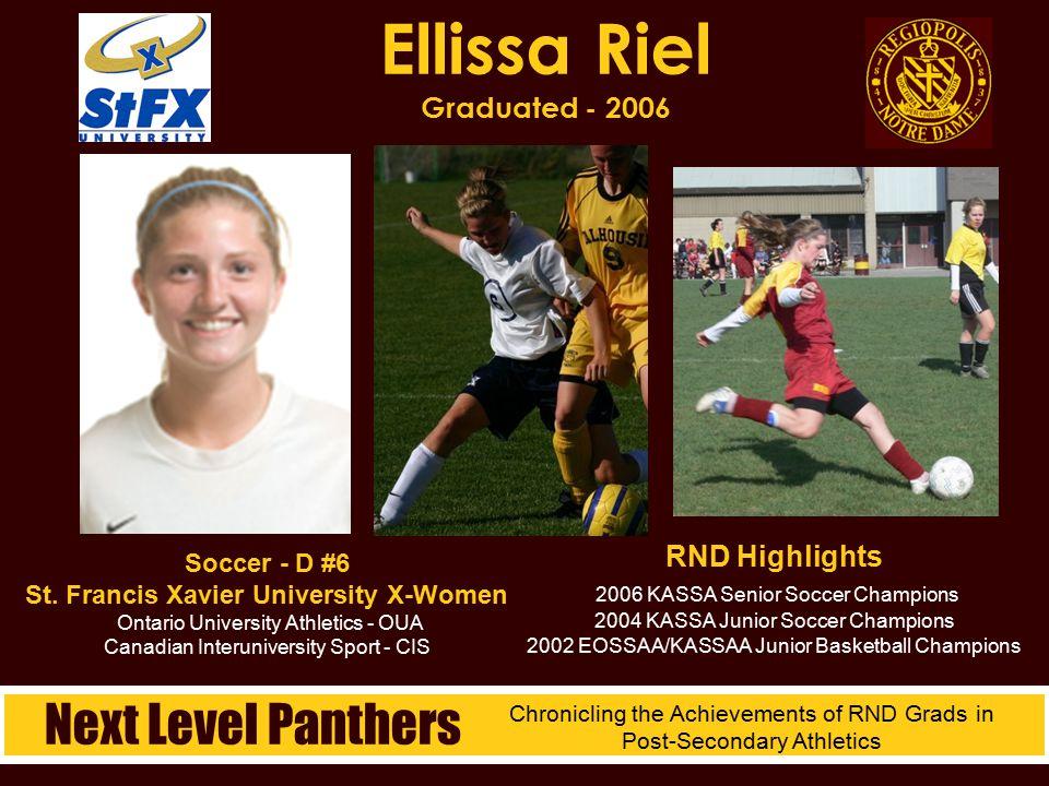 Ellissa Riel Graduated - 2006