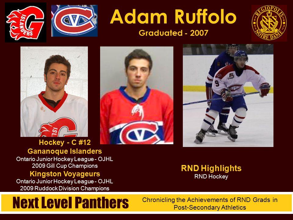 Adam Ruffolo Graduated - 2007