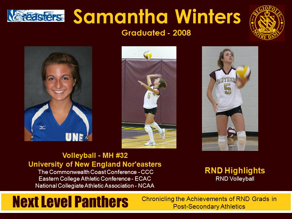 Samantha Winters Graduated - 2008