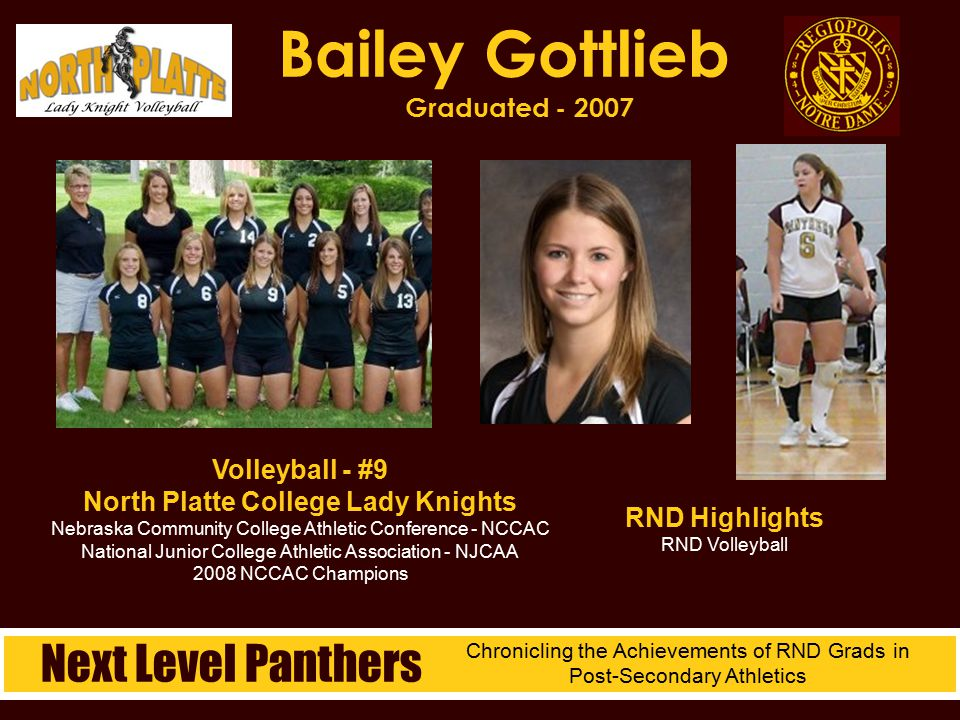 Bailey Gottlieb Graduated - 2007