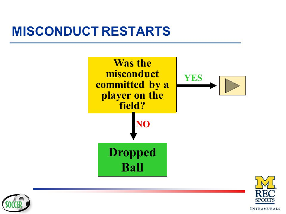Was the misconduct committed by a player on the field