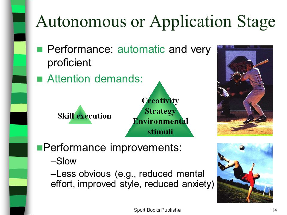 Autonomous or Application Stage