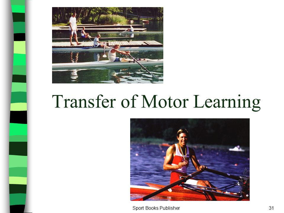 Transfer of Motor Learning
