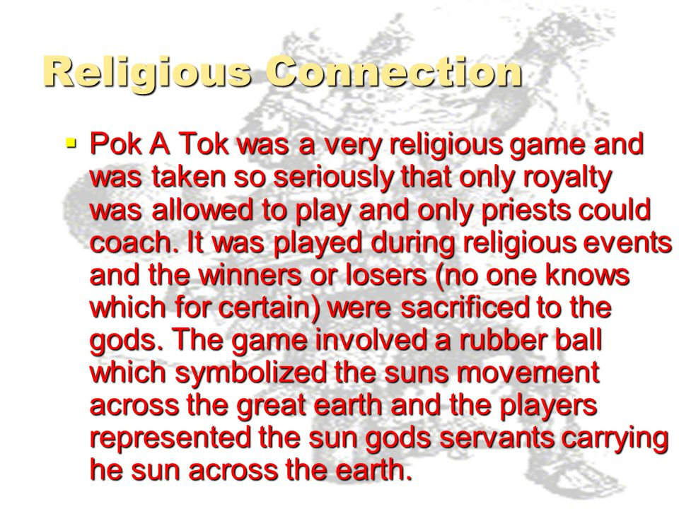 Religious Connection