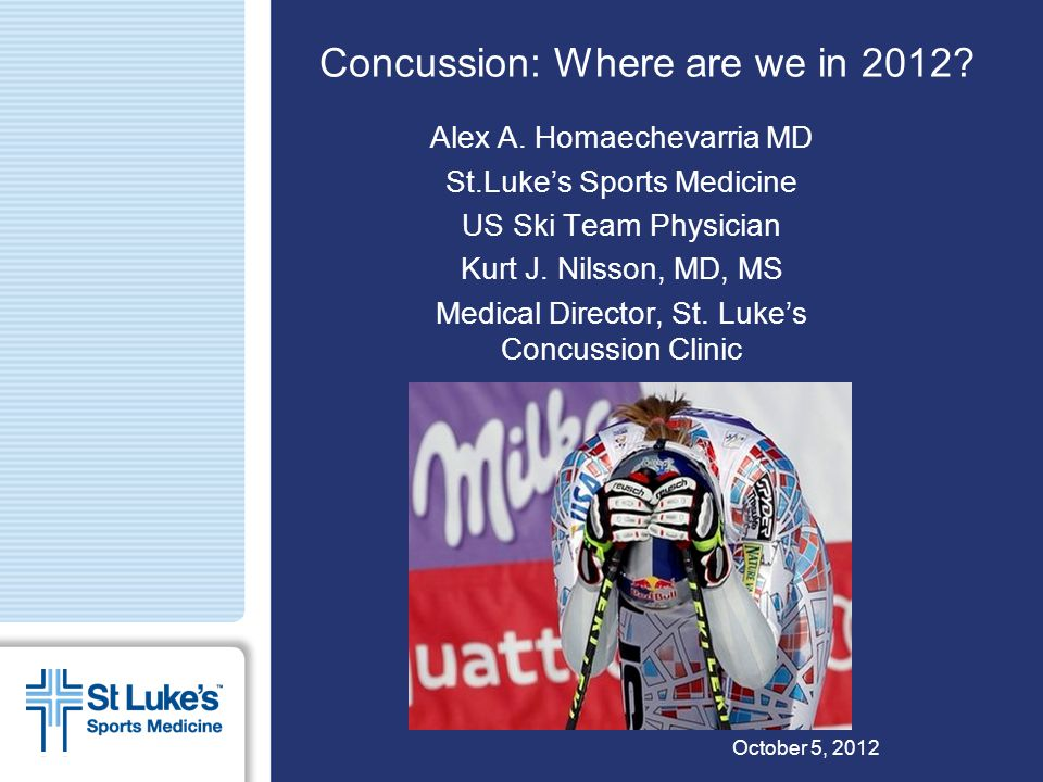 Concussion: Where are we in 2012