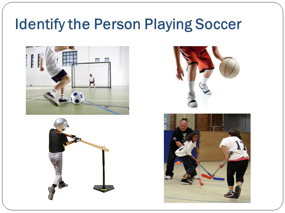 Identify the Person Playing Soccer