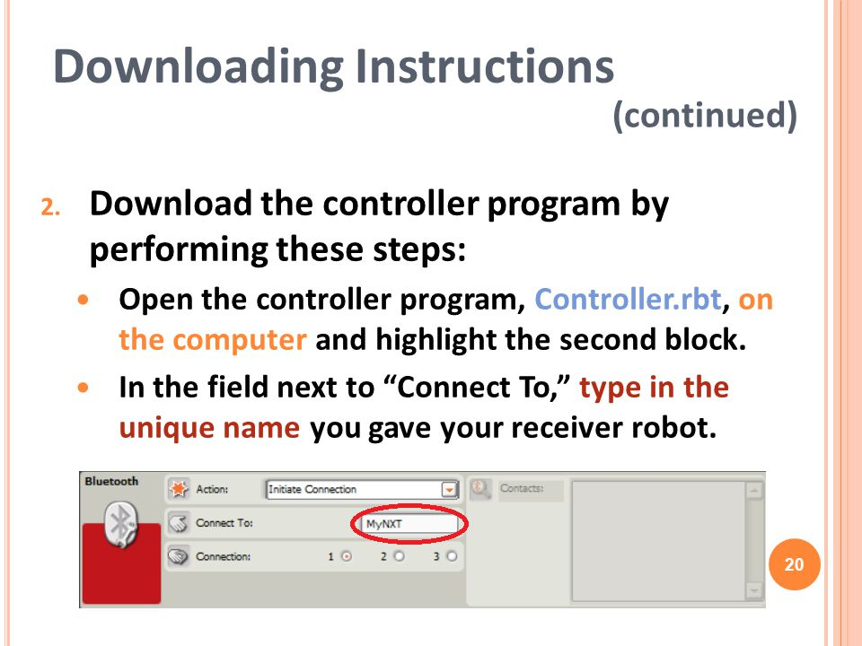 Downloading Instructions