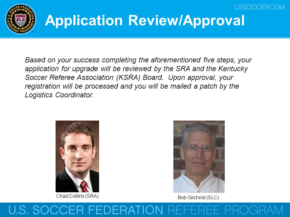 Application Review/Approval