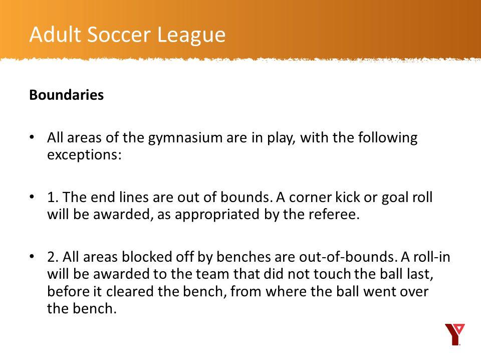 Adult Soccer League Boundaries