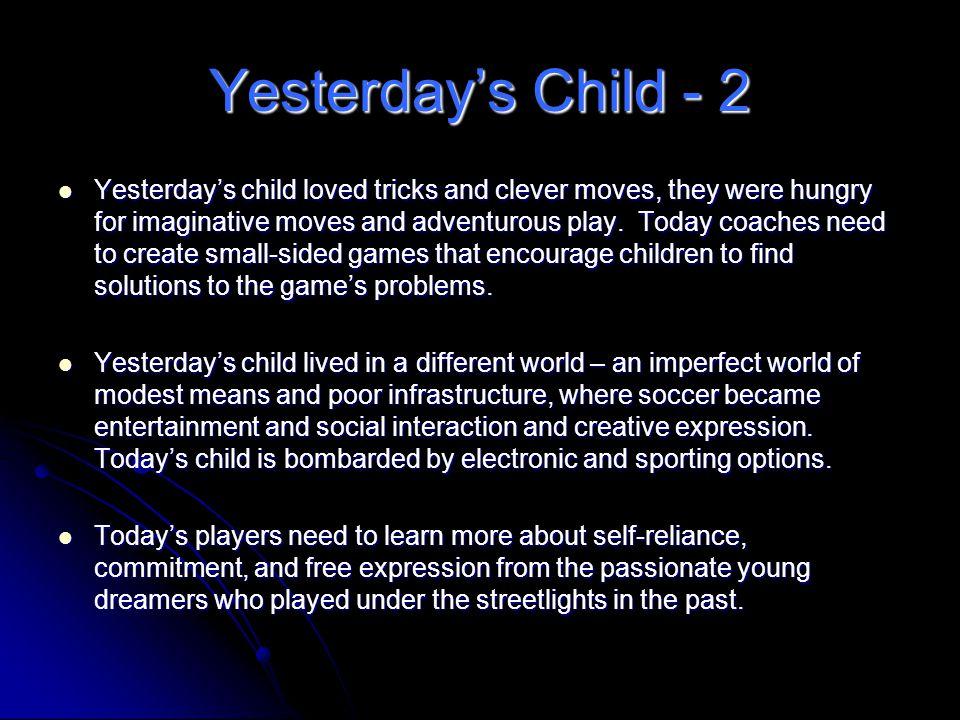Yesterday's Child - 2