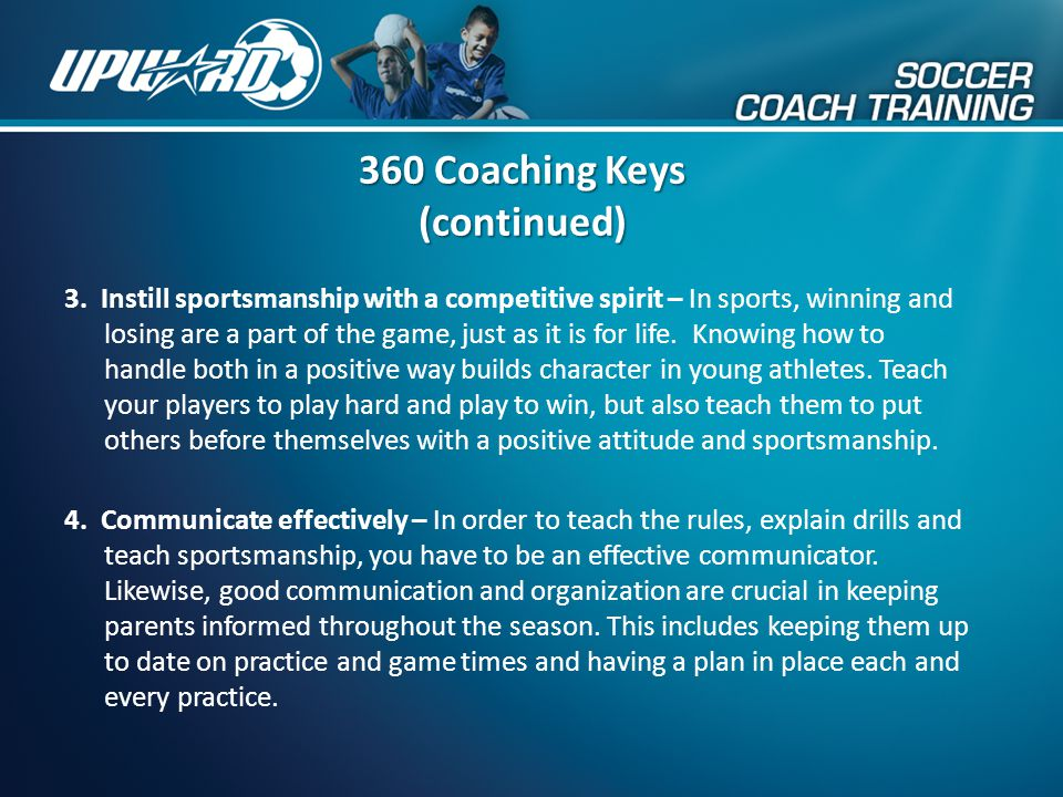 360 Coaching Keys (continued)