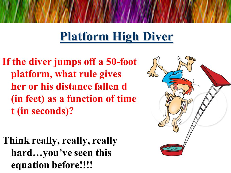 Platform High Diver