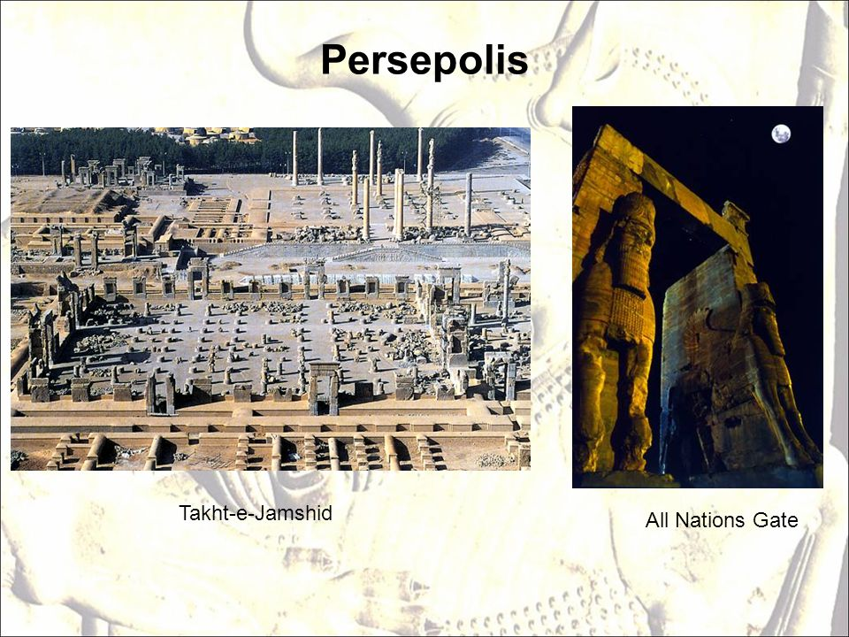 Persepolis Takht-e-Jamshid All Nations Gate