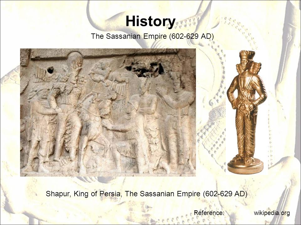 History The Sassanian Empire (602-629 AD)