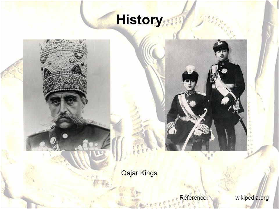 History Qajar Kings Reference: wikipedia.org