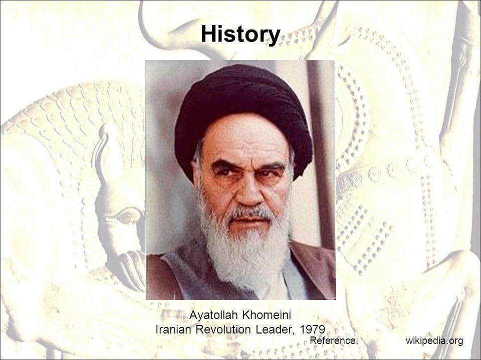 Iranian Revolution Leader, 1979