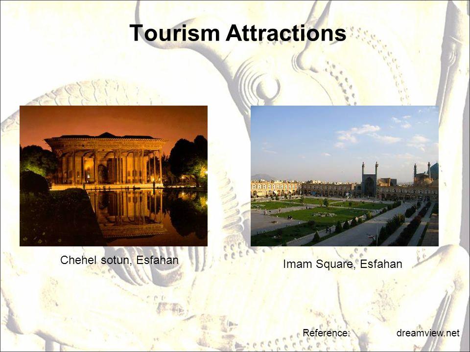 Tourism Attractions Chehel sotun, Esfahan Imam Square, Esfahan