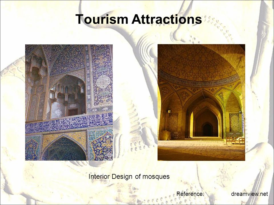 Interior Design of mosques