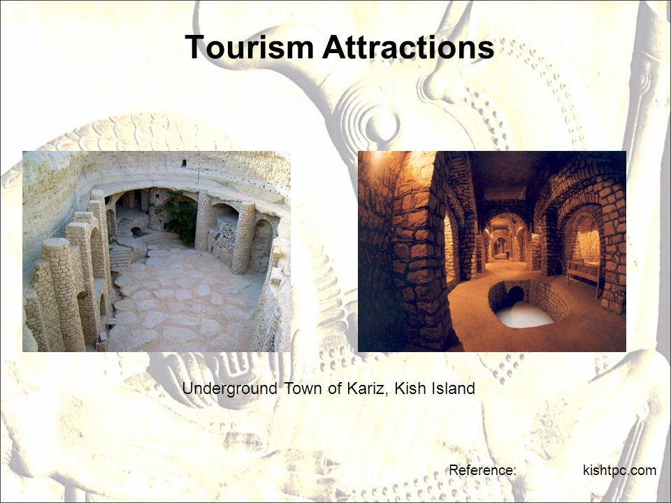 Tourism Attractions Underground Town of Kariz, Kish Island