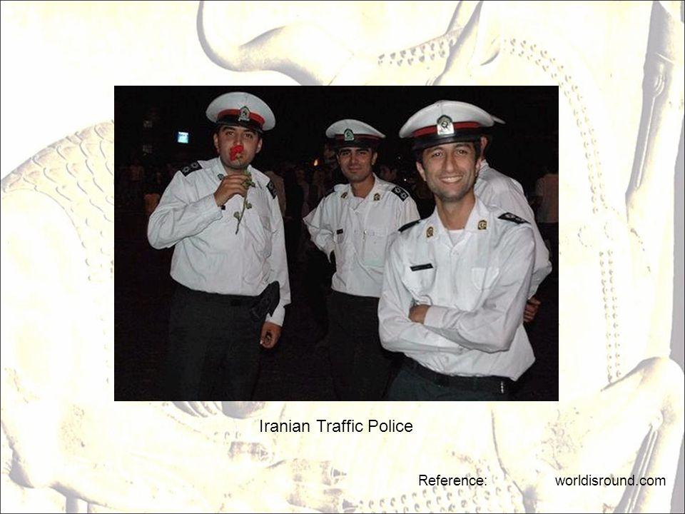 Iranian Traffic Police