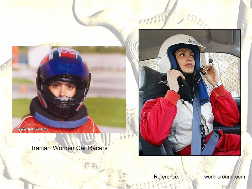 Iranian Women Car Racers