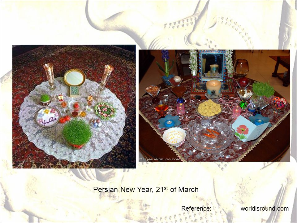 Persian New Year, 21st of March