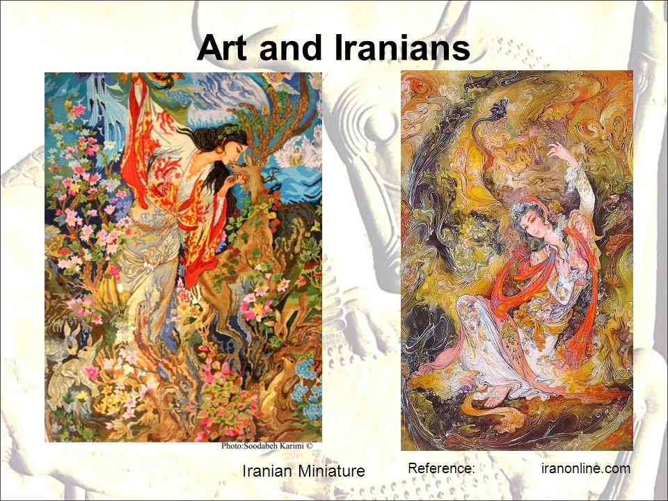 Art and Iranians Iranian Miniature Reference: iranonline.com