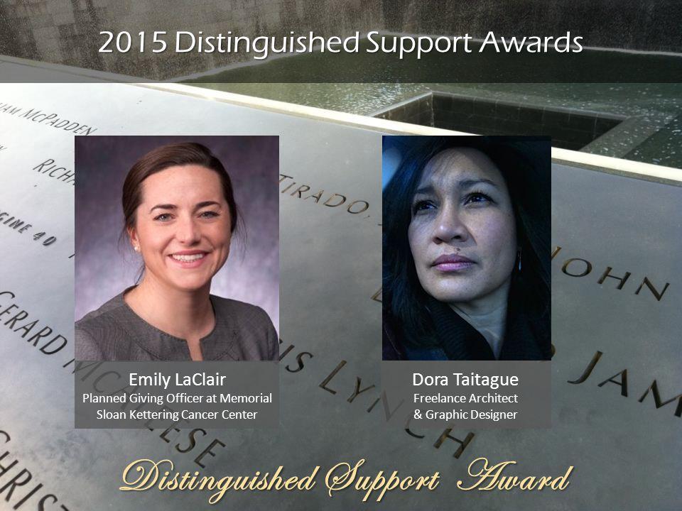 2015 Distinguished Support Awards