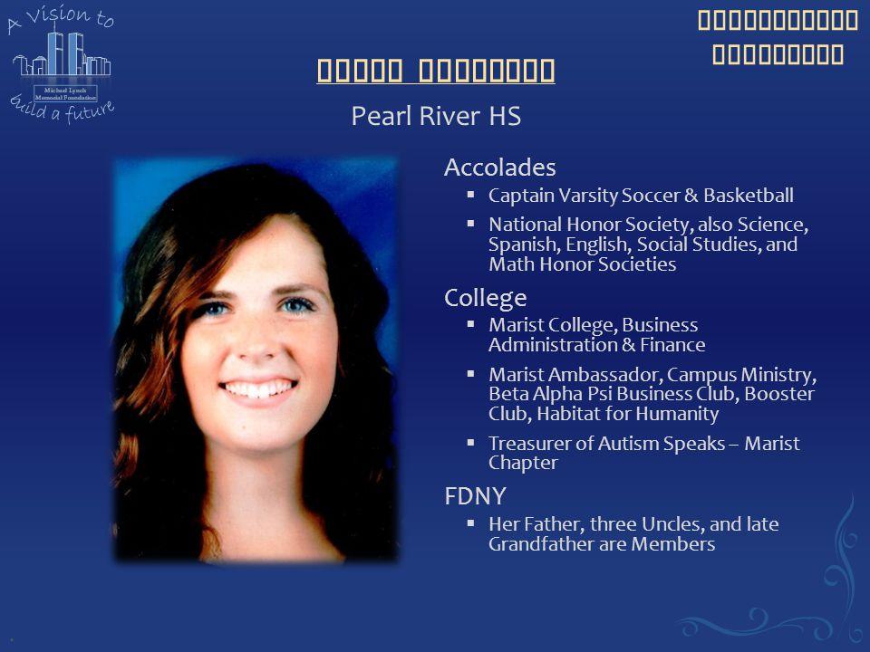 Maura Sullivan Pearl River HS Accolades College FDNY .