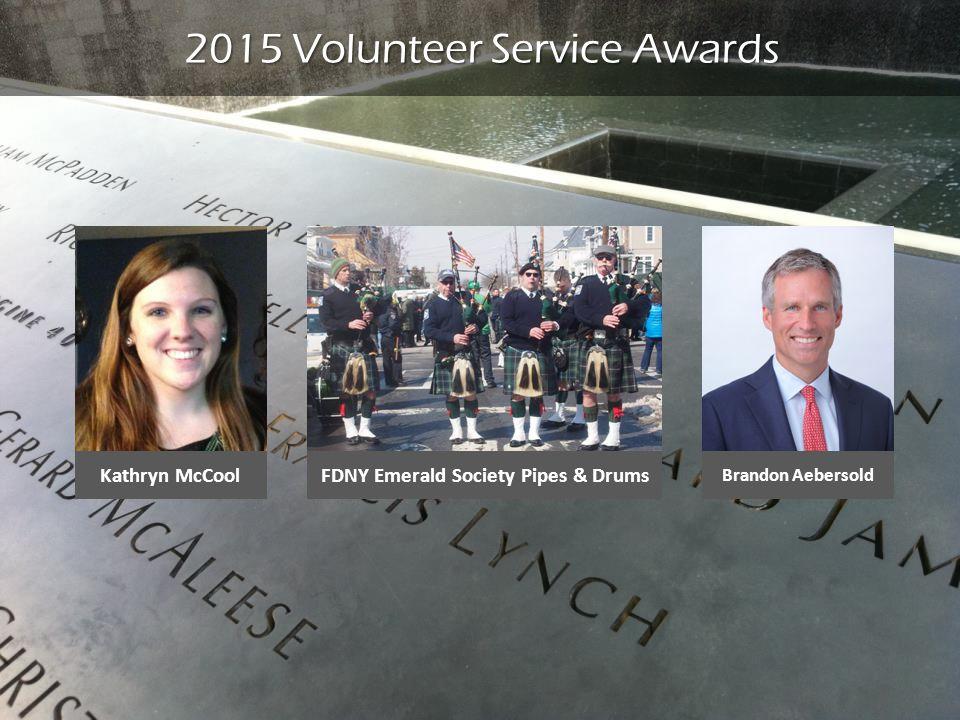2015 Volunteer Service Awards