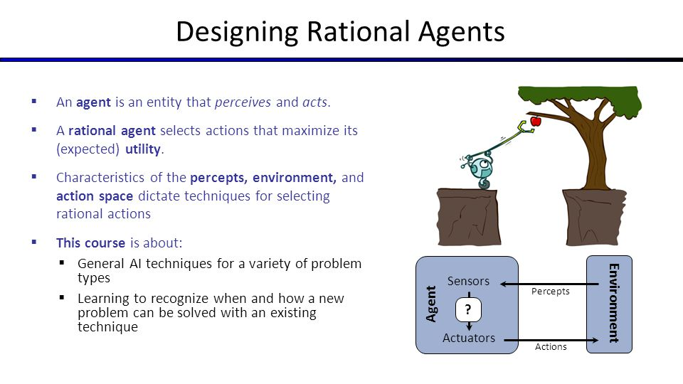 Designing Rational Agents