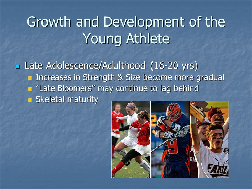 Growth and Development of the Young Athlete