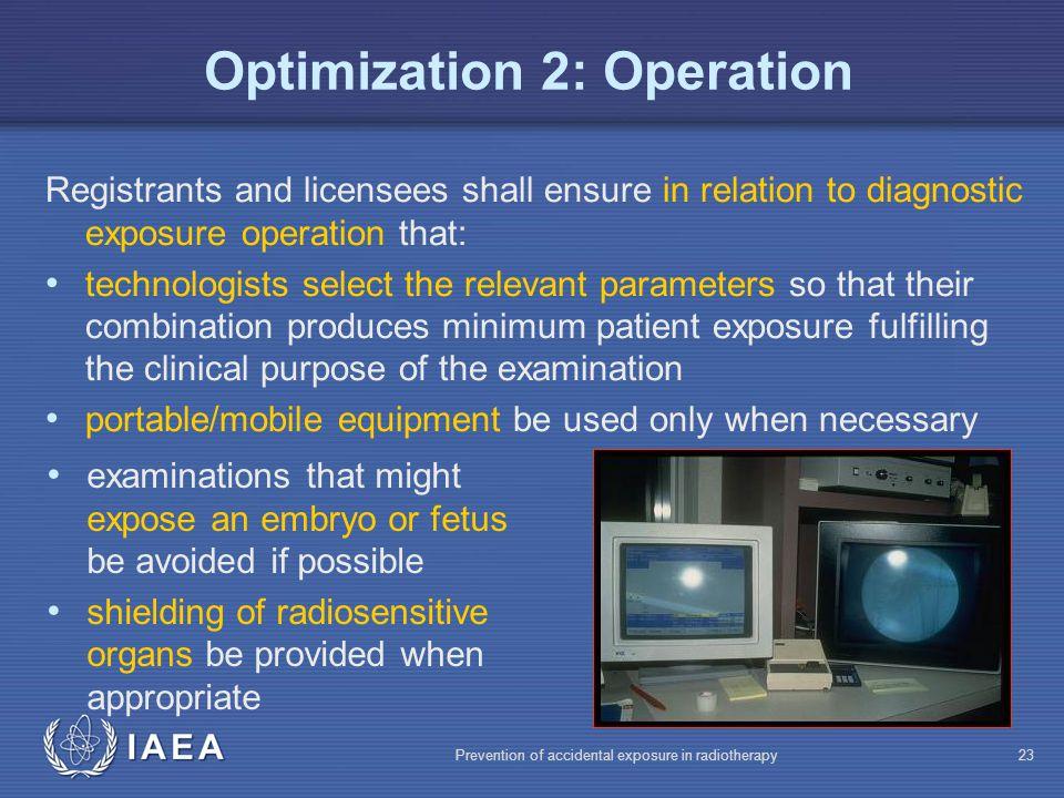 Optimization 2: Operation