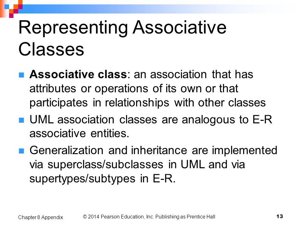 Representing Associative Classes
