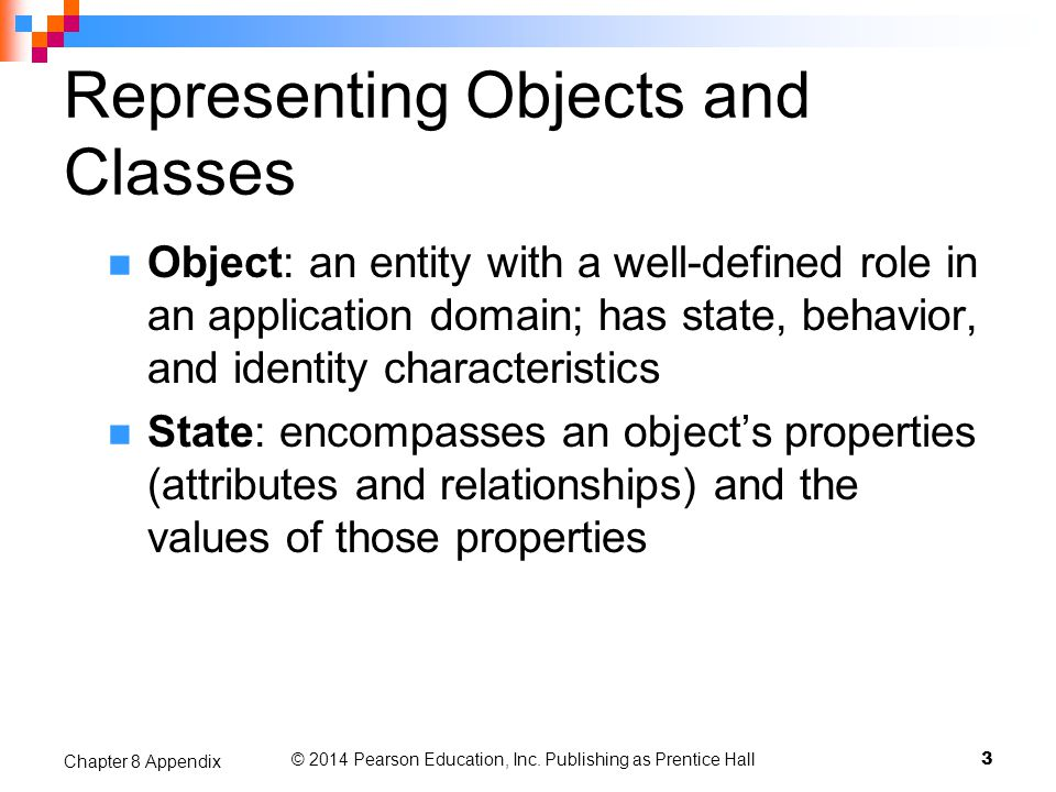 Representing Objects and Classes