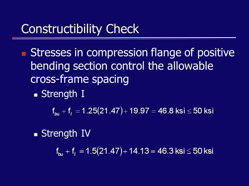 Constructibility Check