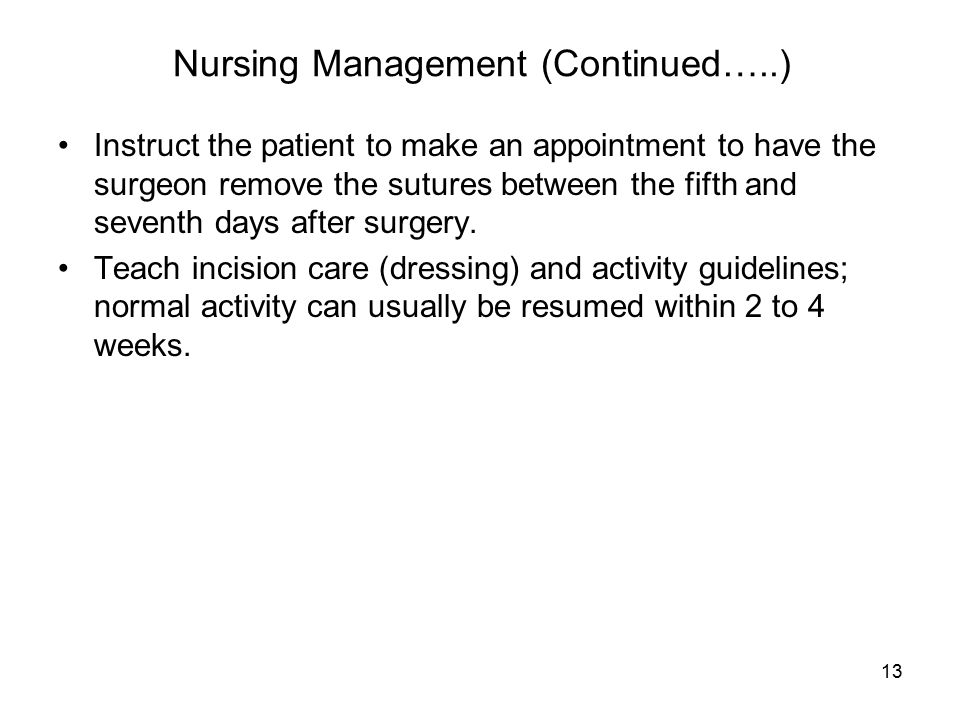 Nursing Management (Continued…..)